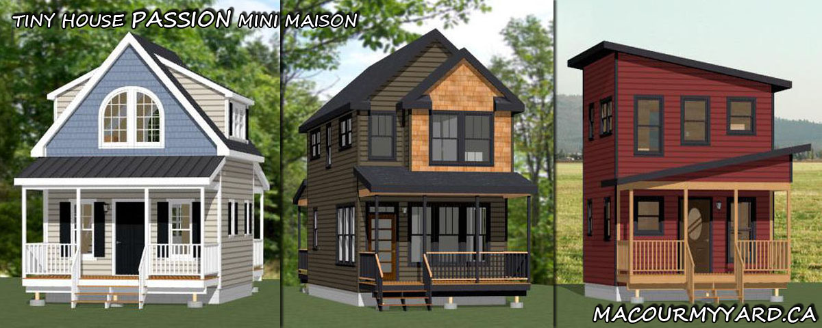 Passion mini maison tiny house for Mini maison moderne